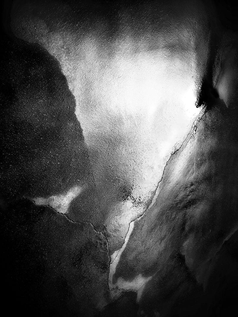 Tiny Immensity #9 - Rain on Asphalt ©2016 L. Aviva Diamond