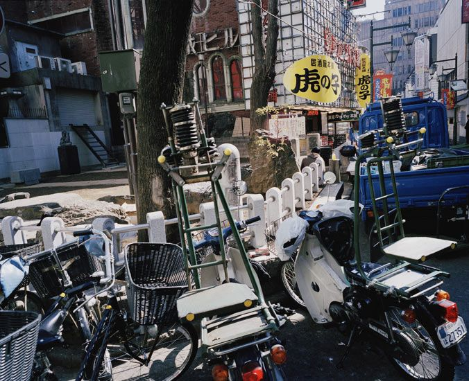Shinjuku, Tokyo, Japan, March 2005