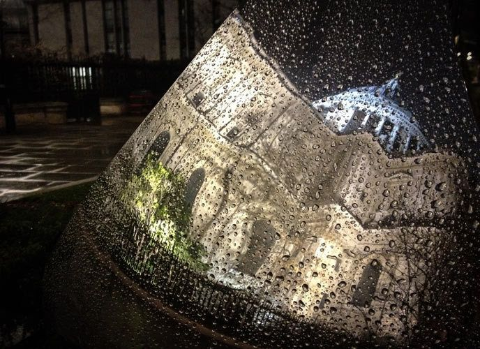 St Pauls Reflection, London