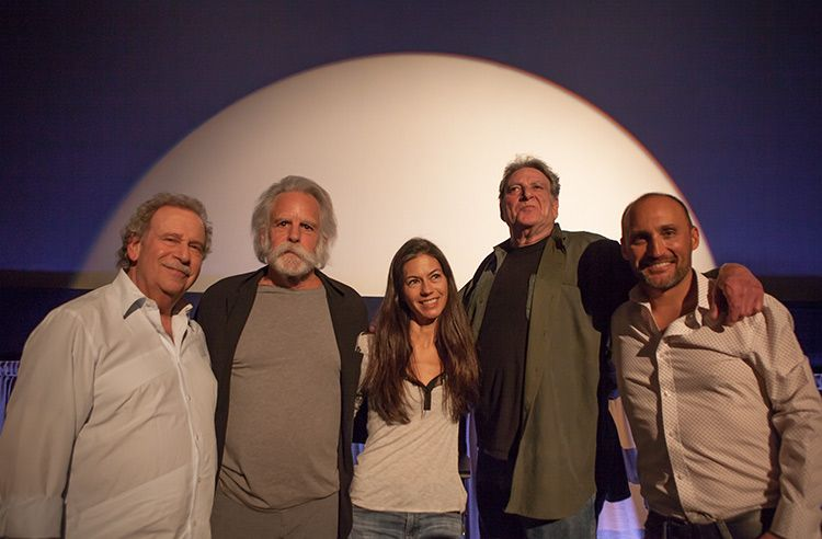 Mark Fishkin, Bob & Natasha Wier, Steve Parish, Amir Bar-Lev