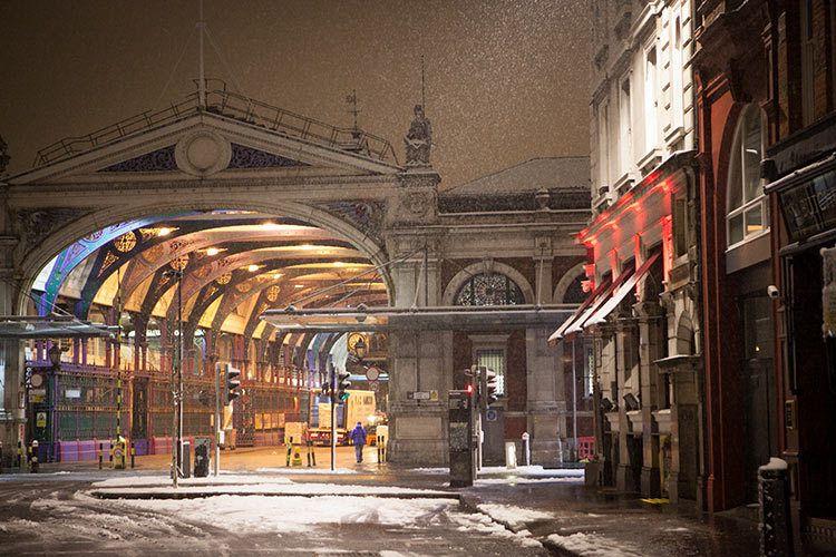 Billingsgate Market, London