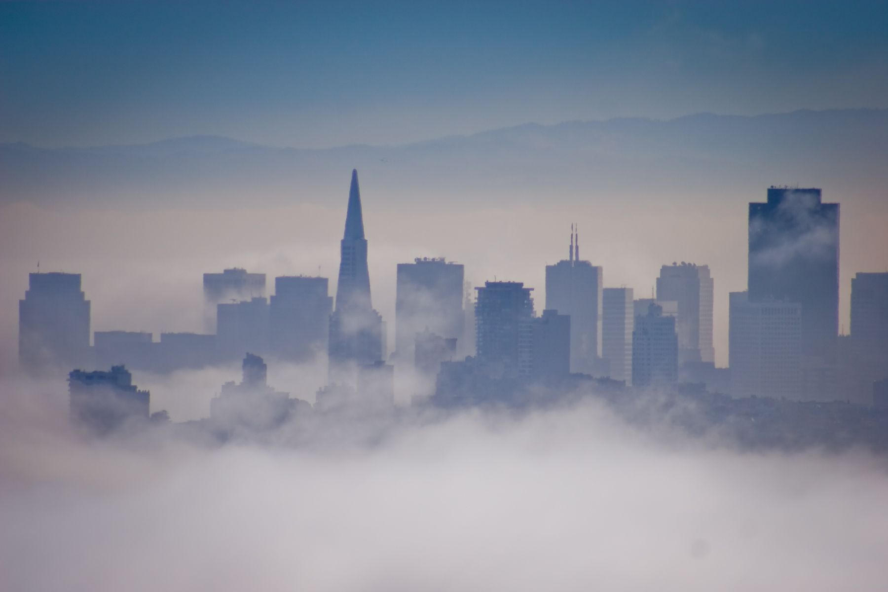 San Francisco Skyline, CA