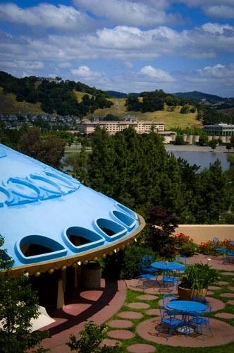 Frank Lloyd Wright Civic Center, San Rafael, CA