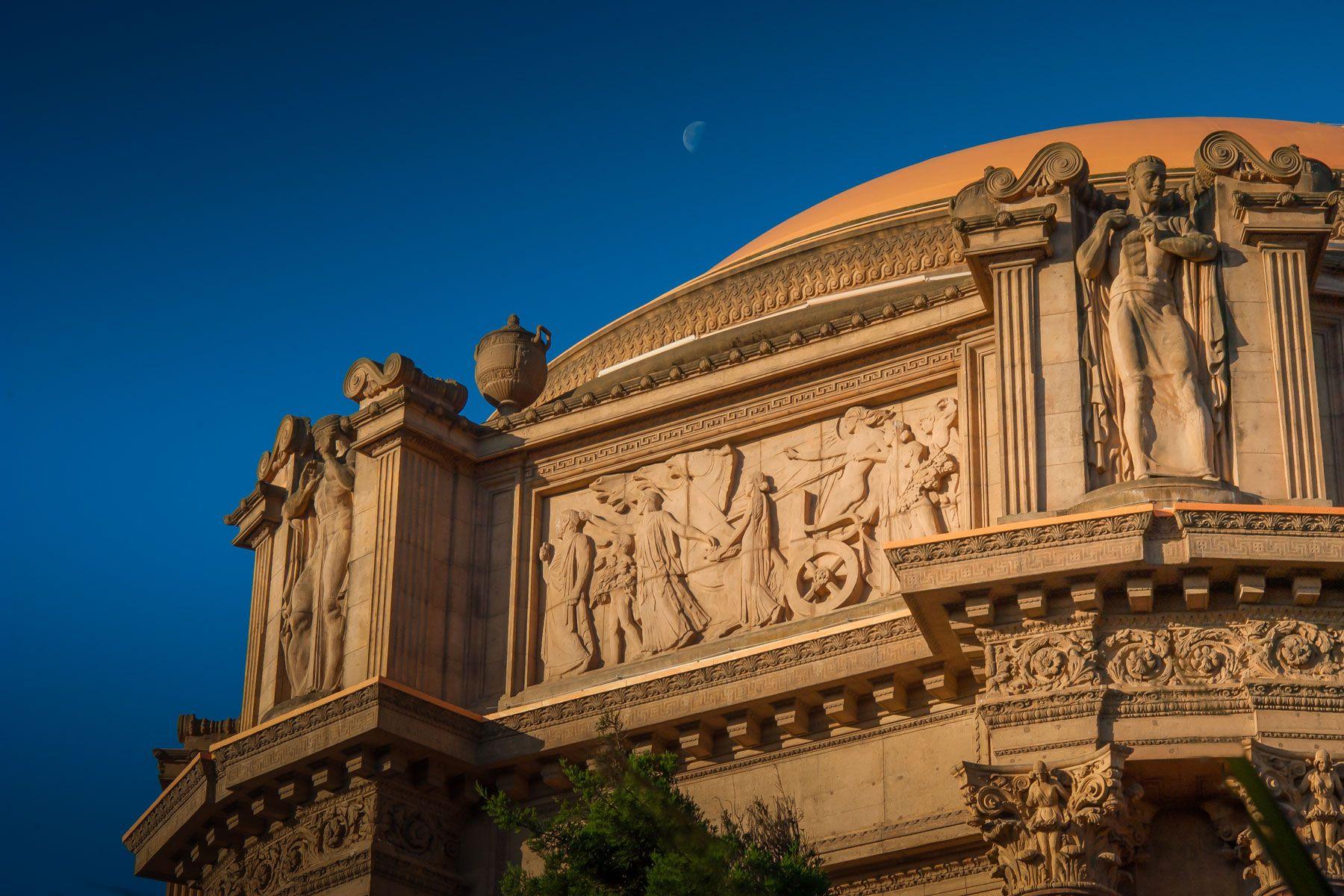 Palace of Fine Arts, CA
