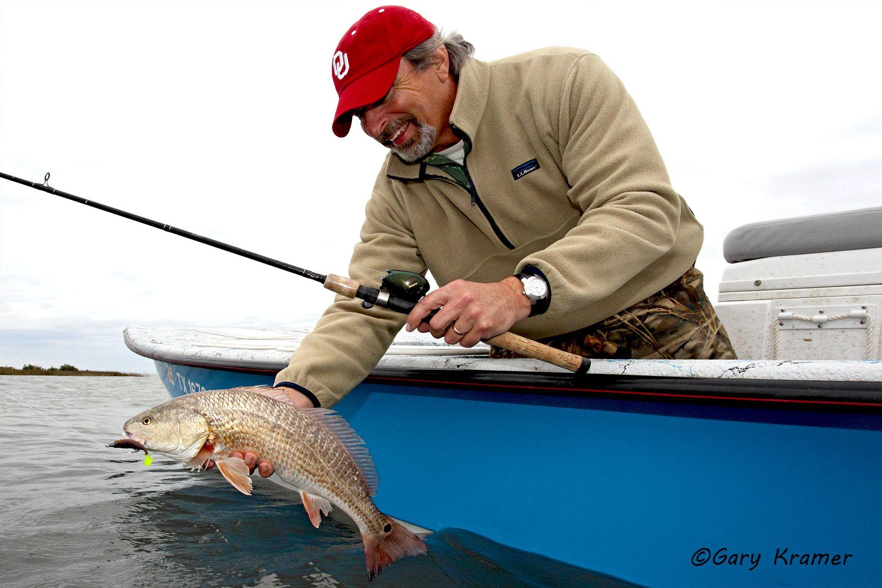 Angler (Greg Mensik) w/Redfish - NFRra#008d