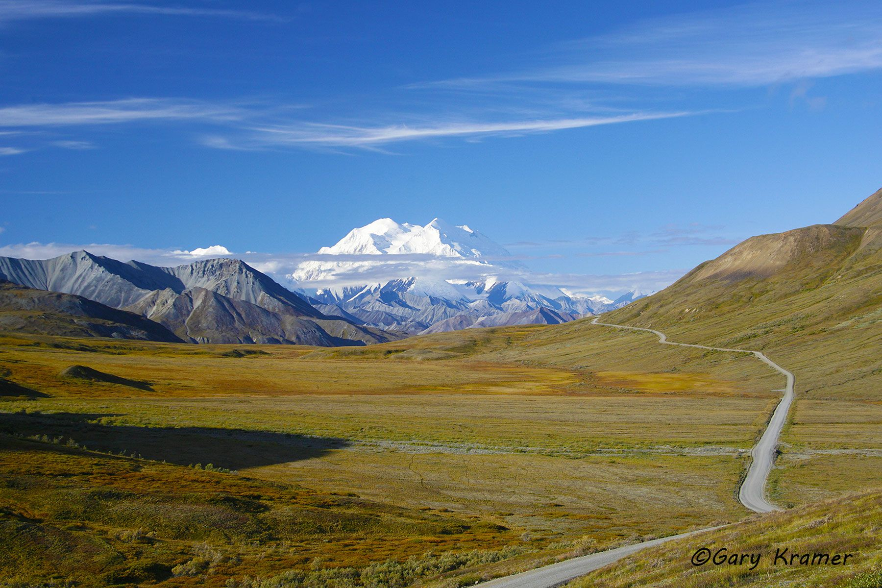 Mt. McKinley, Denali National Park, Alaska- NSAM#069d