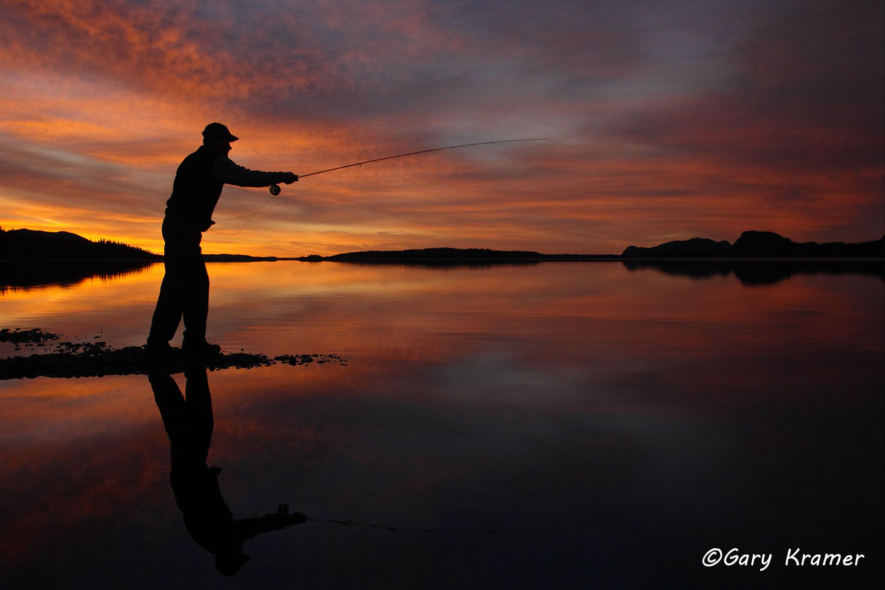 Fly Fishing at Sunset/Sunrise - GFS#266d