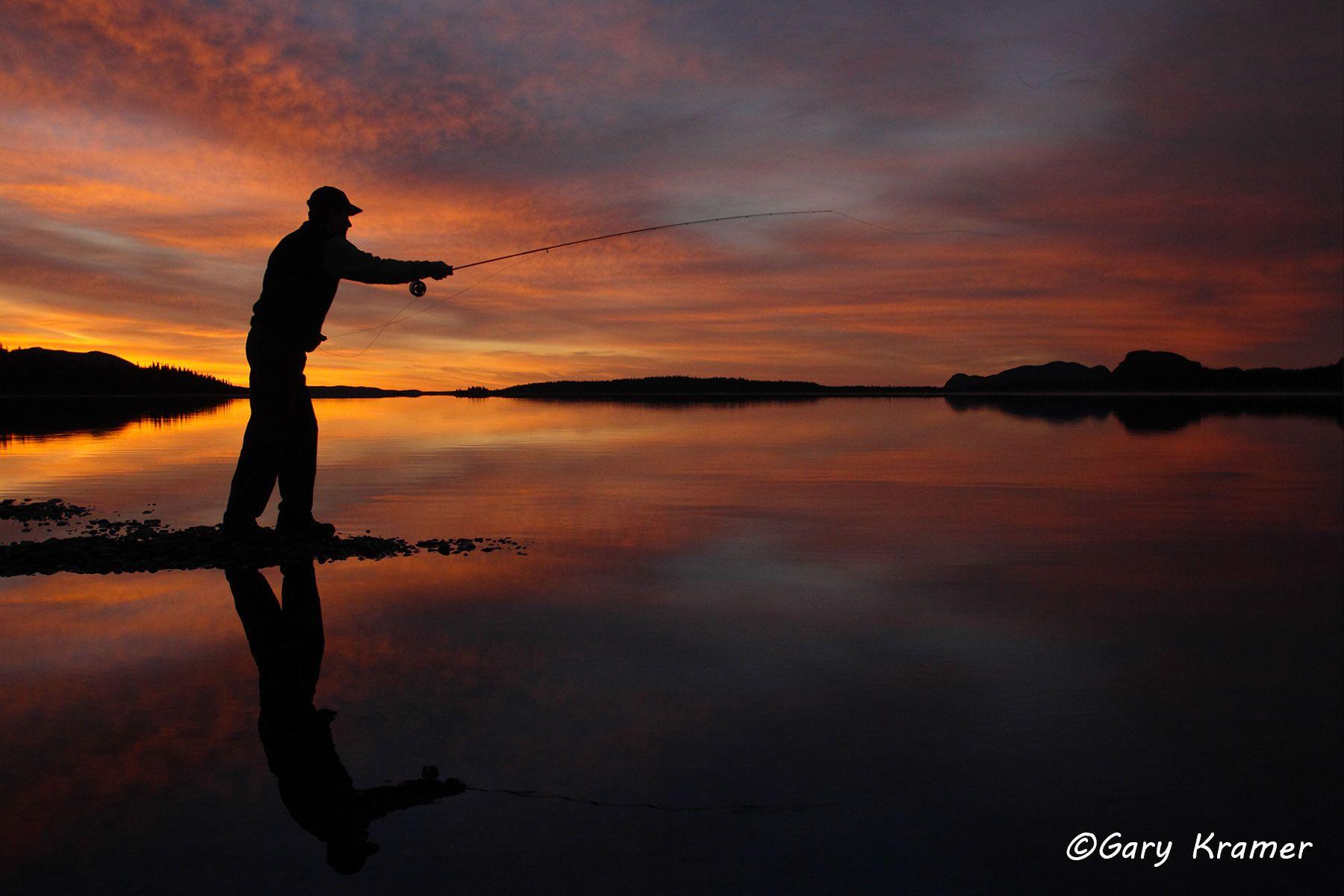 Fly Fishing at Sunset/Sunrise - GFS#266d