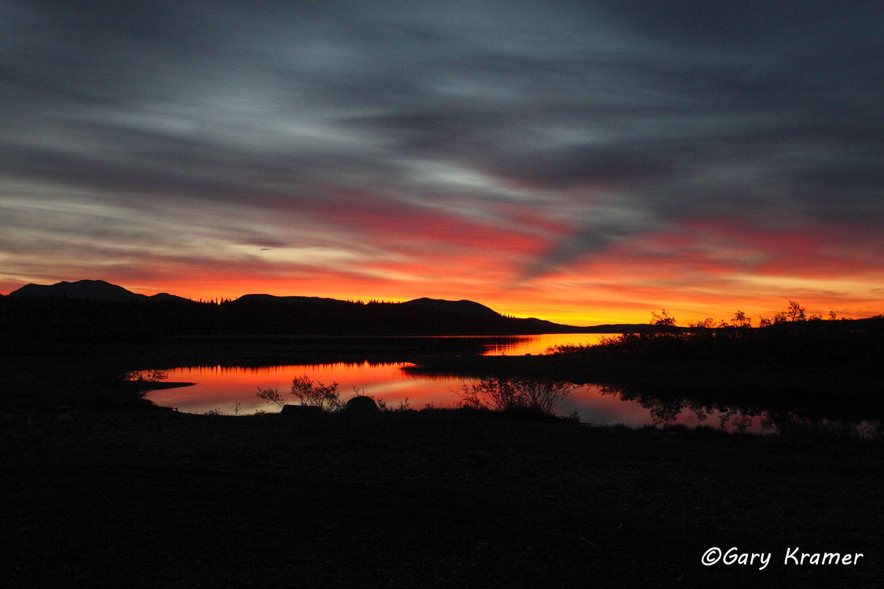 Sunrise/sunset, Lake/Mountains - GSSlm#001d