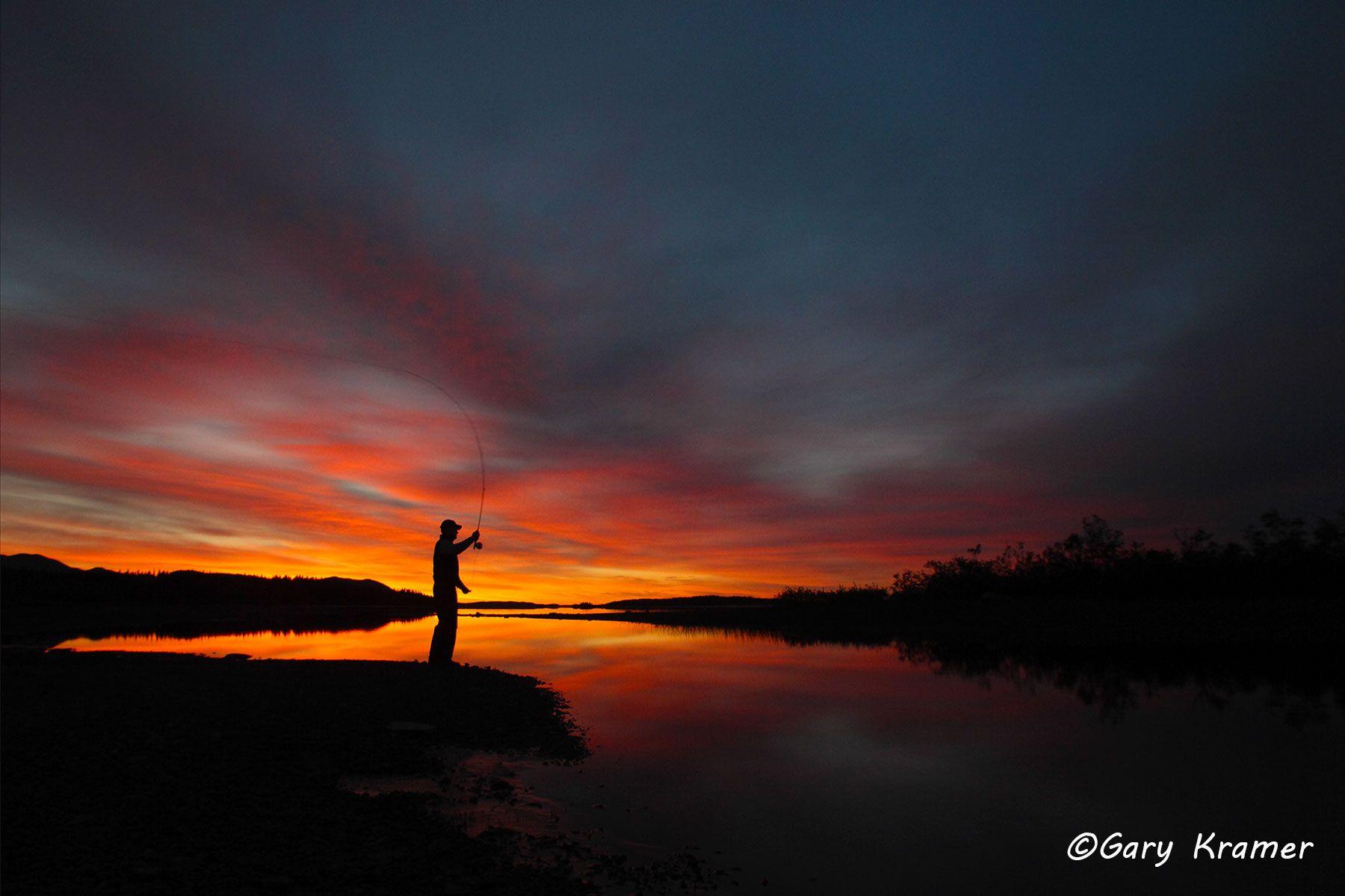 Fly Fishing at Sunset/Sunrise - GFS#135d