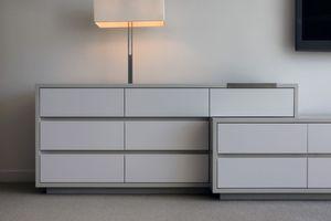 Upper East Side penthouseCustom integrated dresser