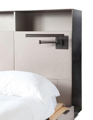 Upper West Side skyriseCustom bed detail