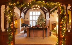 New Canaan Holiday Hour Tour 2013Entry to Great Room