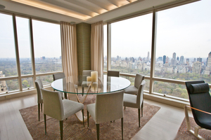 Central Park skyriseDining with a view