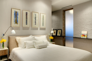 Upper West Side loftMaster bedroom