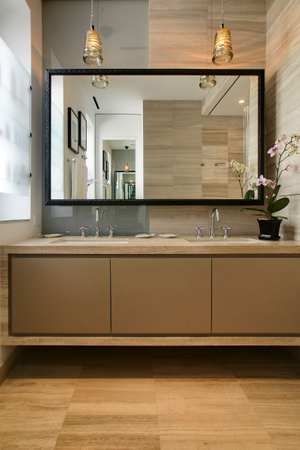 Upper West Side loftMaster bathroom