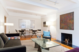 Upper West Side prewarLiving and dining area