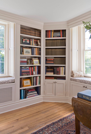 Old Greenwich AntiqueLiving room library