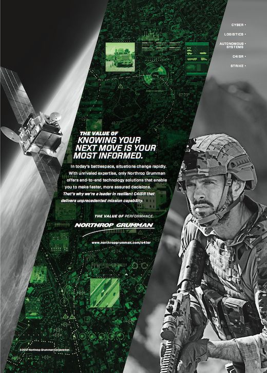 NORTHROP GRUMMAN/ AUSTRALIAN SATELLITE SPECIAL FORCES