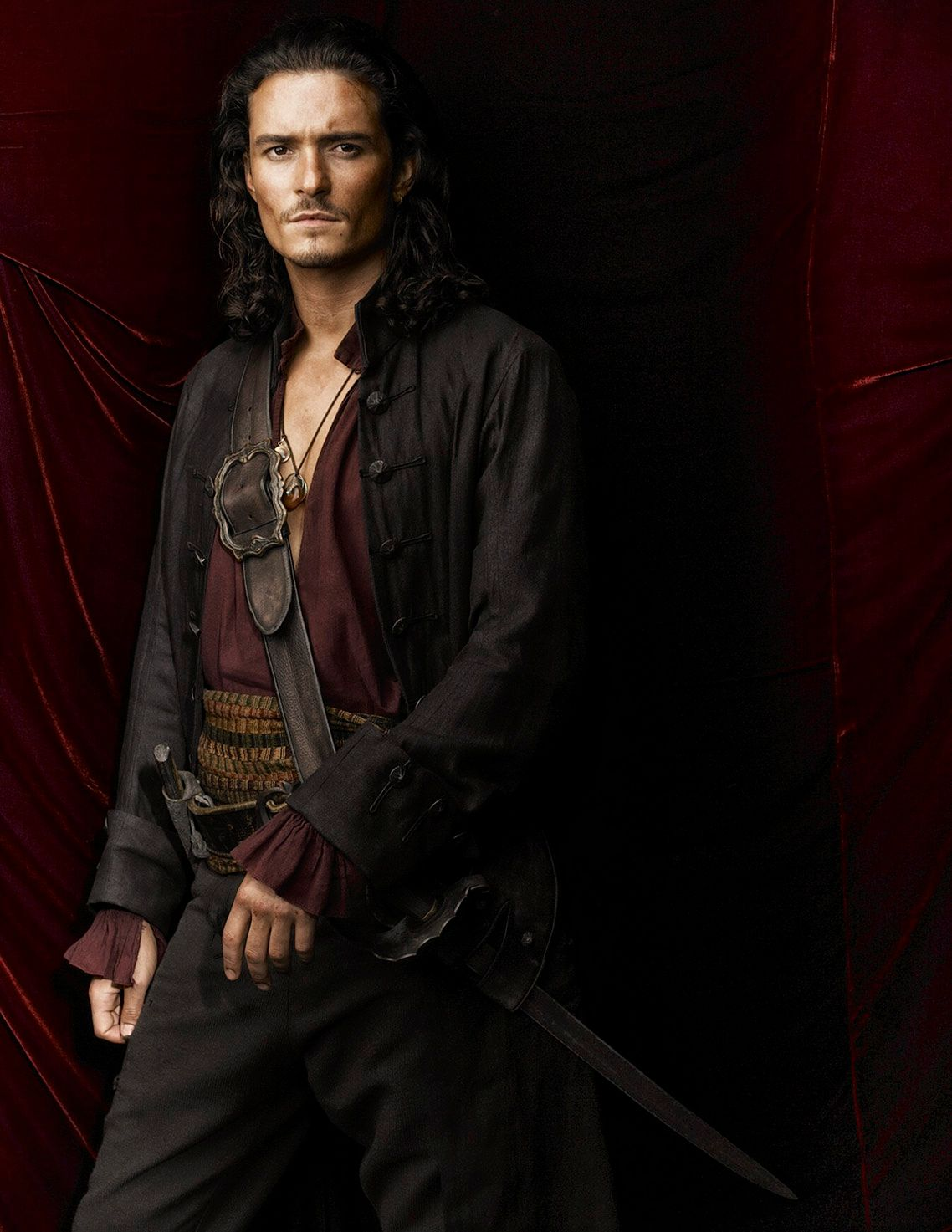 ORLANDO BLOOM • PIRATES OF THE CARIBBEAN • AT WORLD'S END
