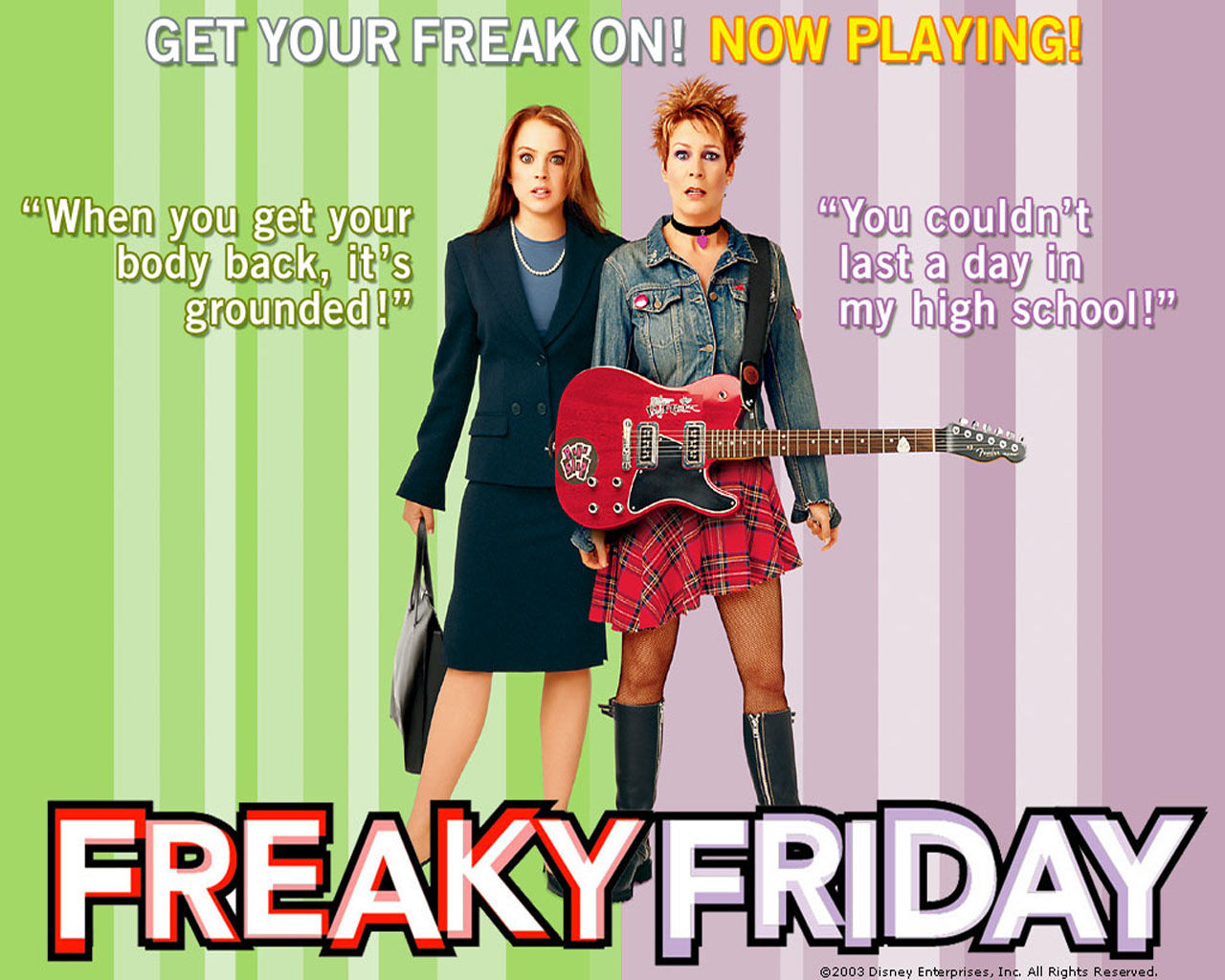 FREAKY FRIDAY • Poster Art