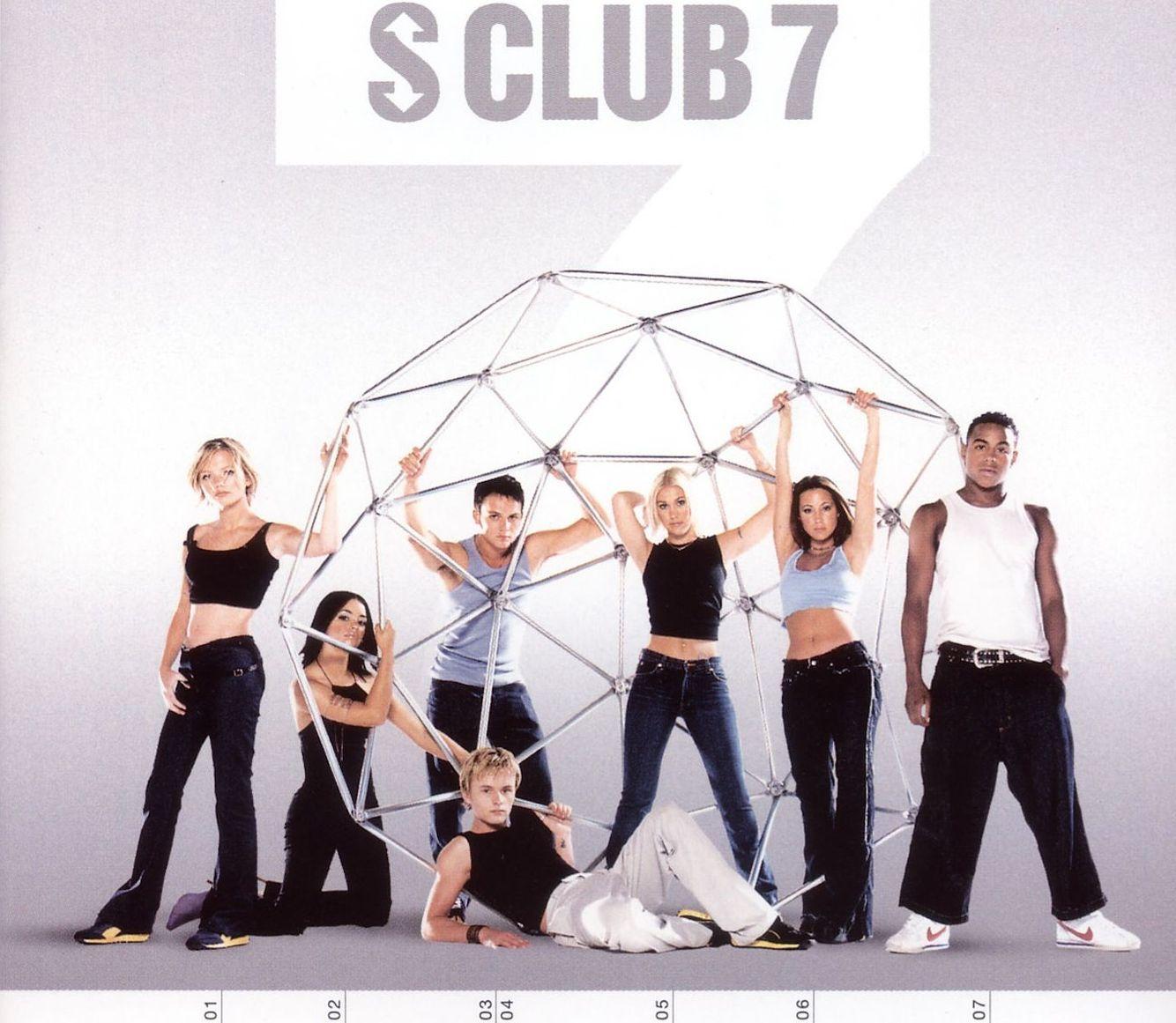 S CLUB 7 • CD Art