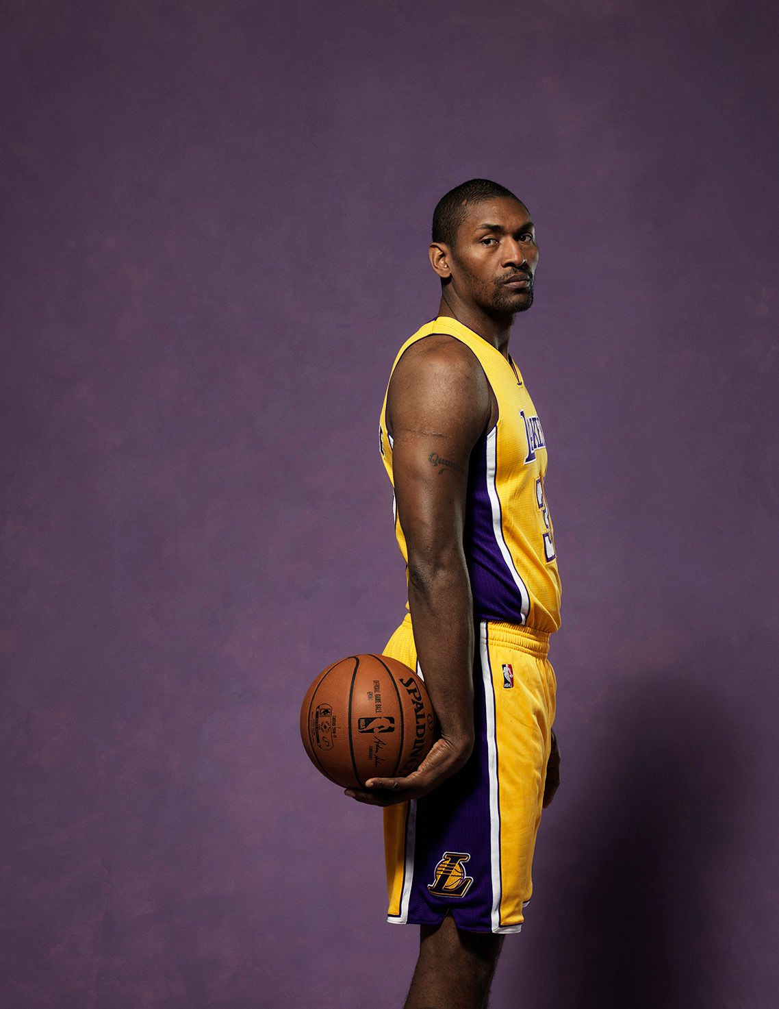METTA WORLD PEACE • LA LAKERS 2016-17