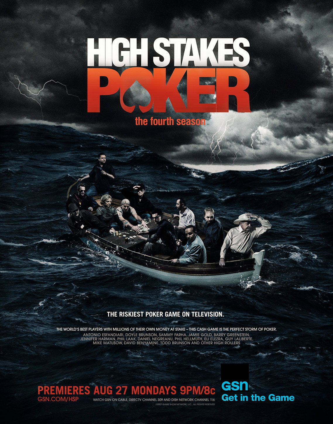 HIGH STAKES POKER •  Season 3