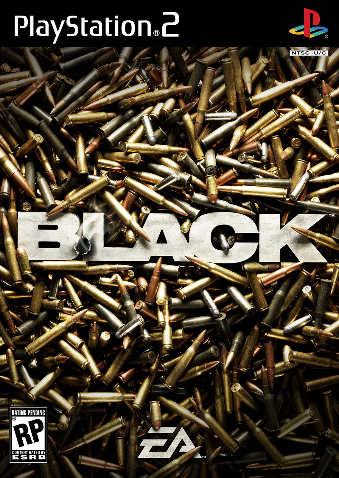 BLACK • PLAYSTATION 2