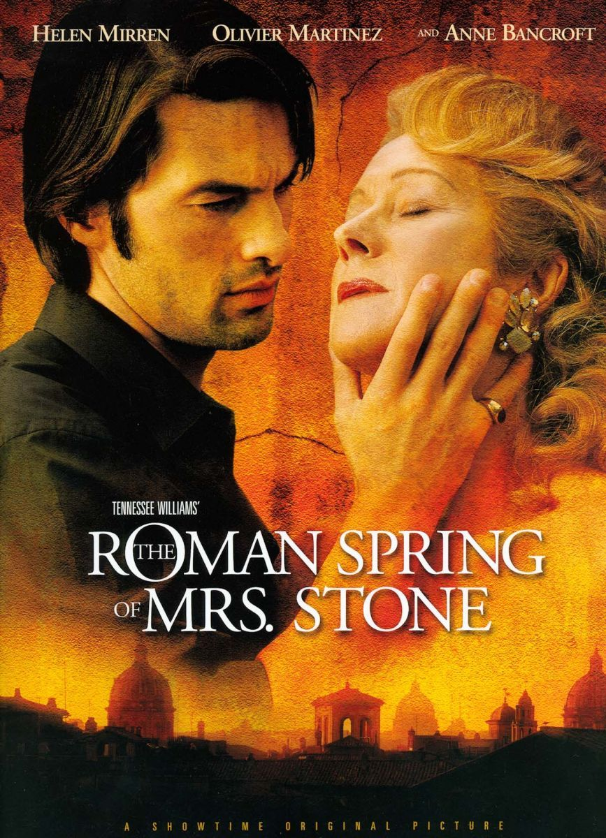 THE ROMAN SPRING OF MRS. STONE • DVD Art