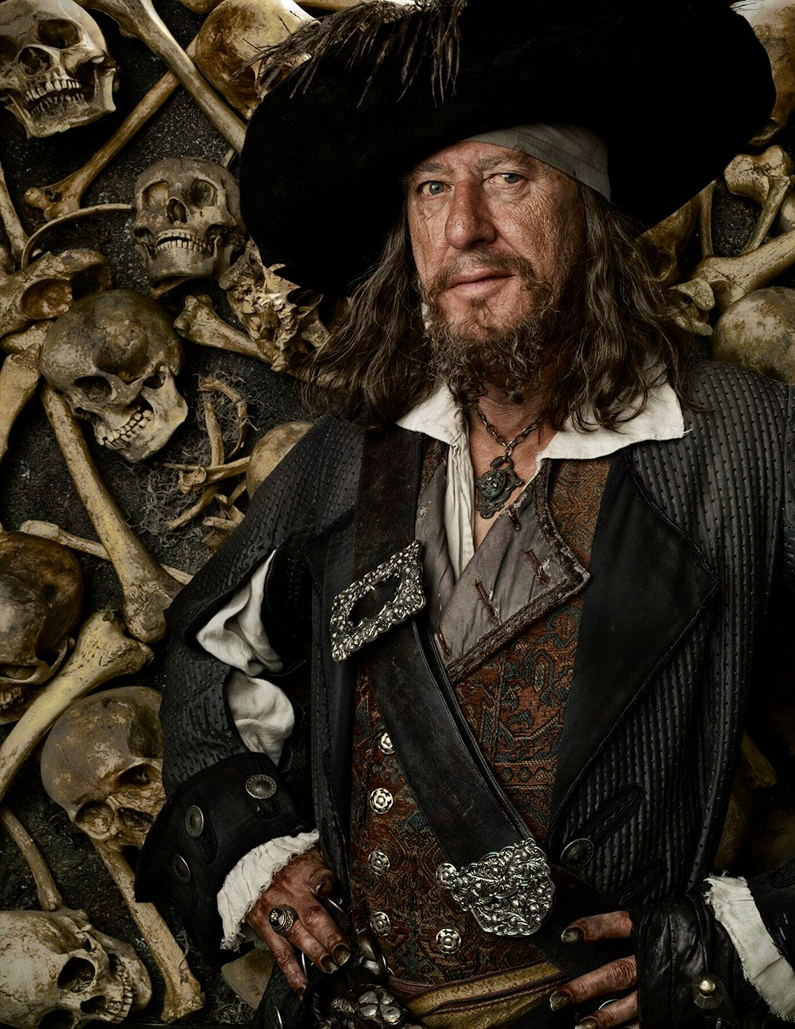 GEOFFREY RUSH • PIRATES OF THE CARIBBEAN • AT WORLD'S END