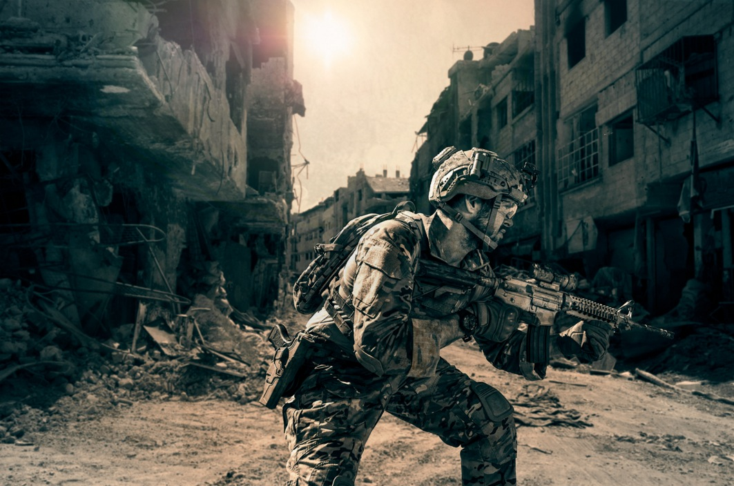 NORTHROP GRUMMAN • MIDDLE EAST SATELLITE SOLDIER
