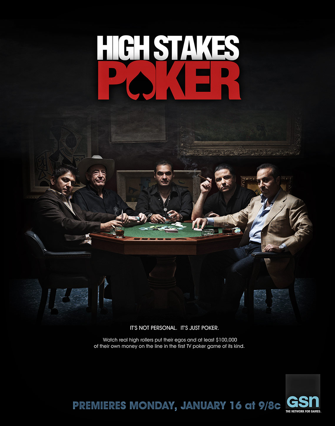 HIGH STAKES POKER • Season 1