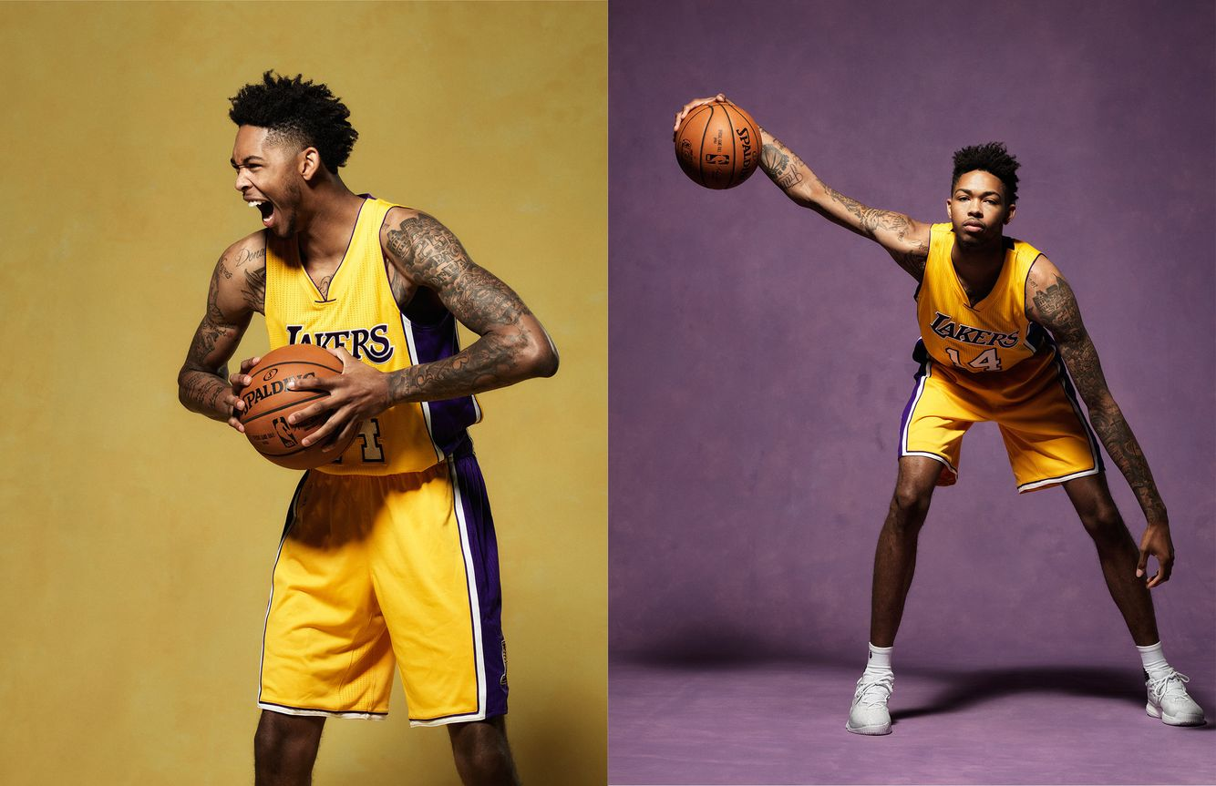 BRANDON INGRAM • LA LAKERS 2016-17