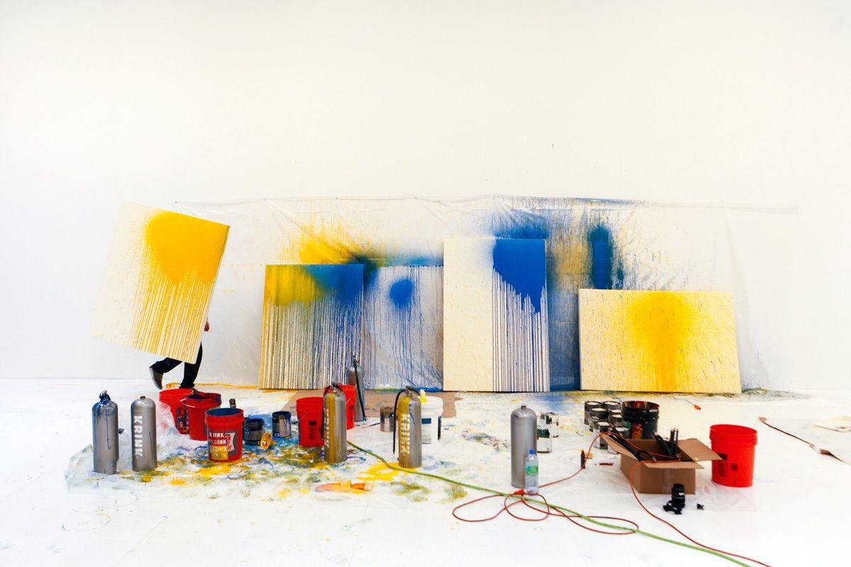Craig Costello aka Krink, Deitch Gallery, NYC