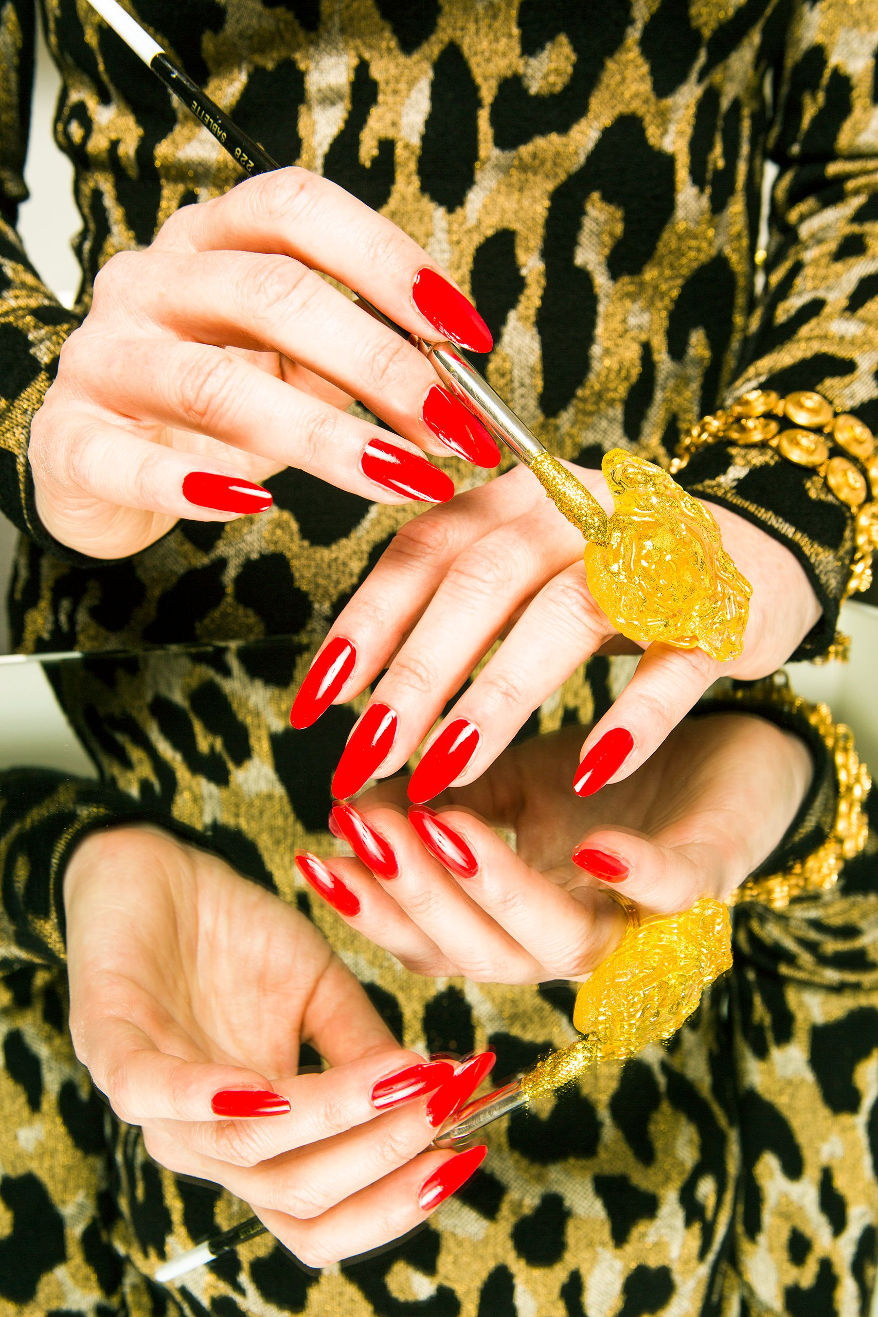 Maayan Zilberman for Vogue x Versace