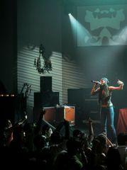 Mala on stage