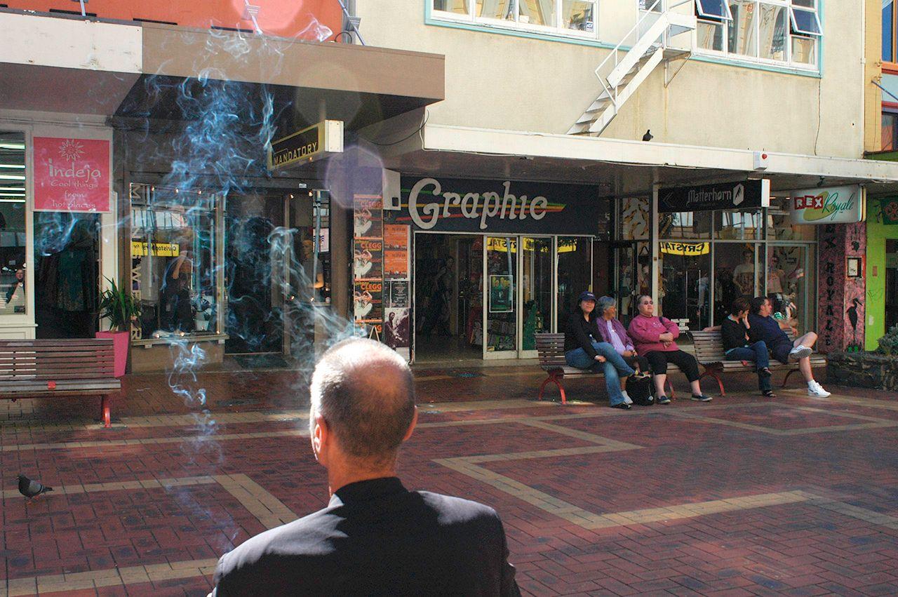 Smoking in Wellington New Zealand