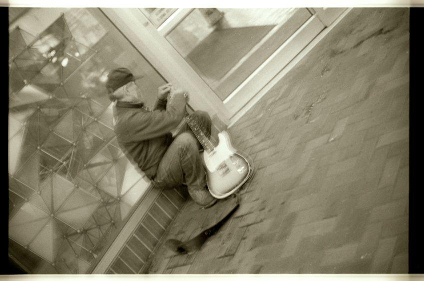 street musician, san francisco