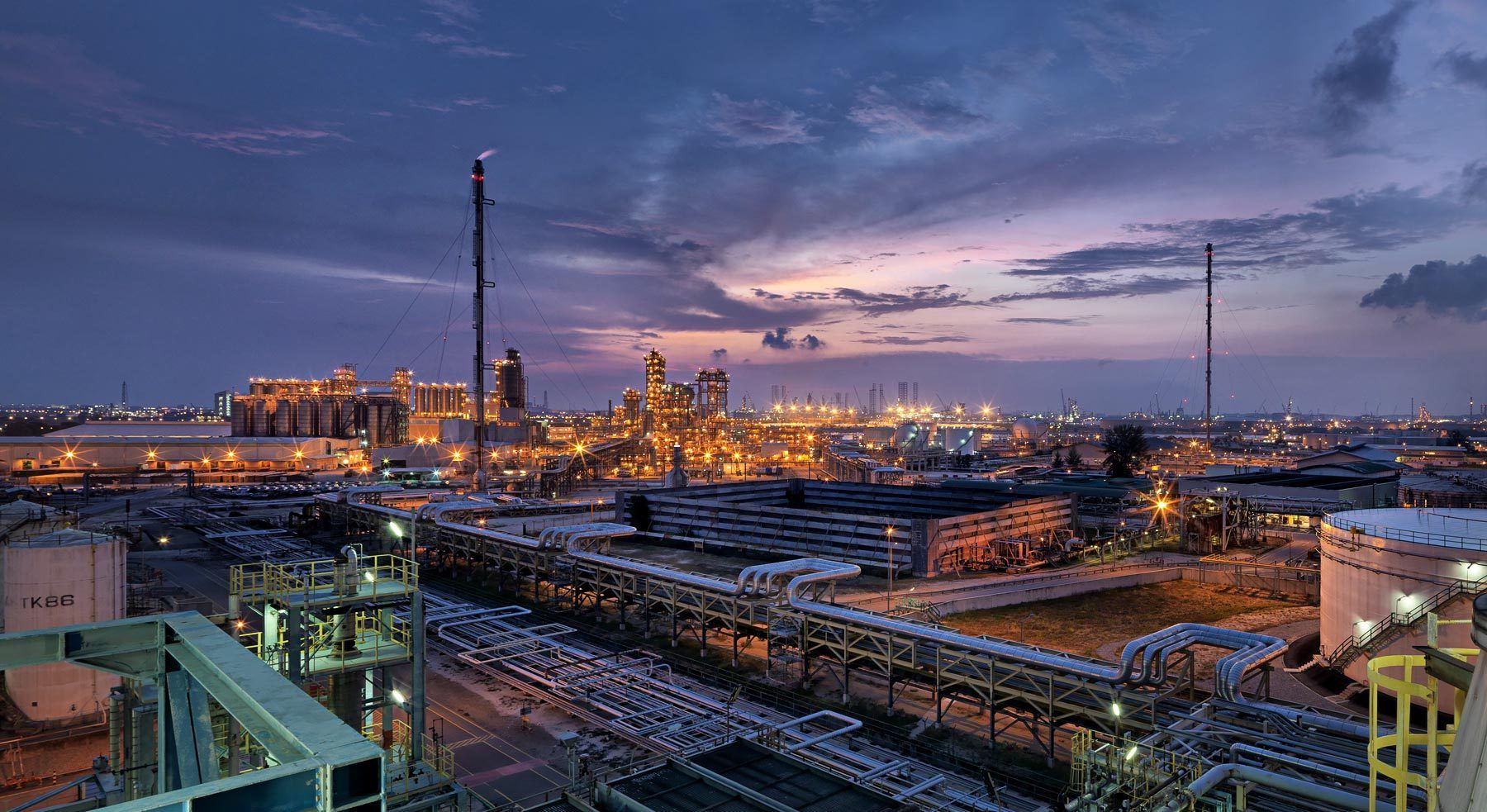 Singapore Chemical Plant - Exxon Mobil