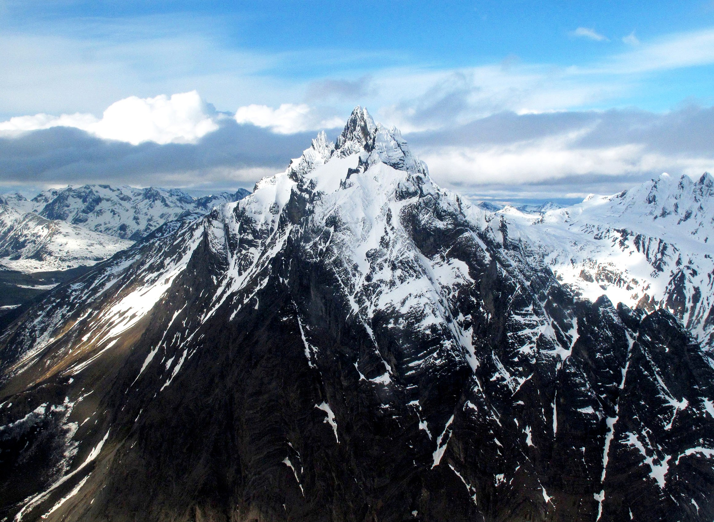Aerial Andes