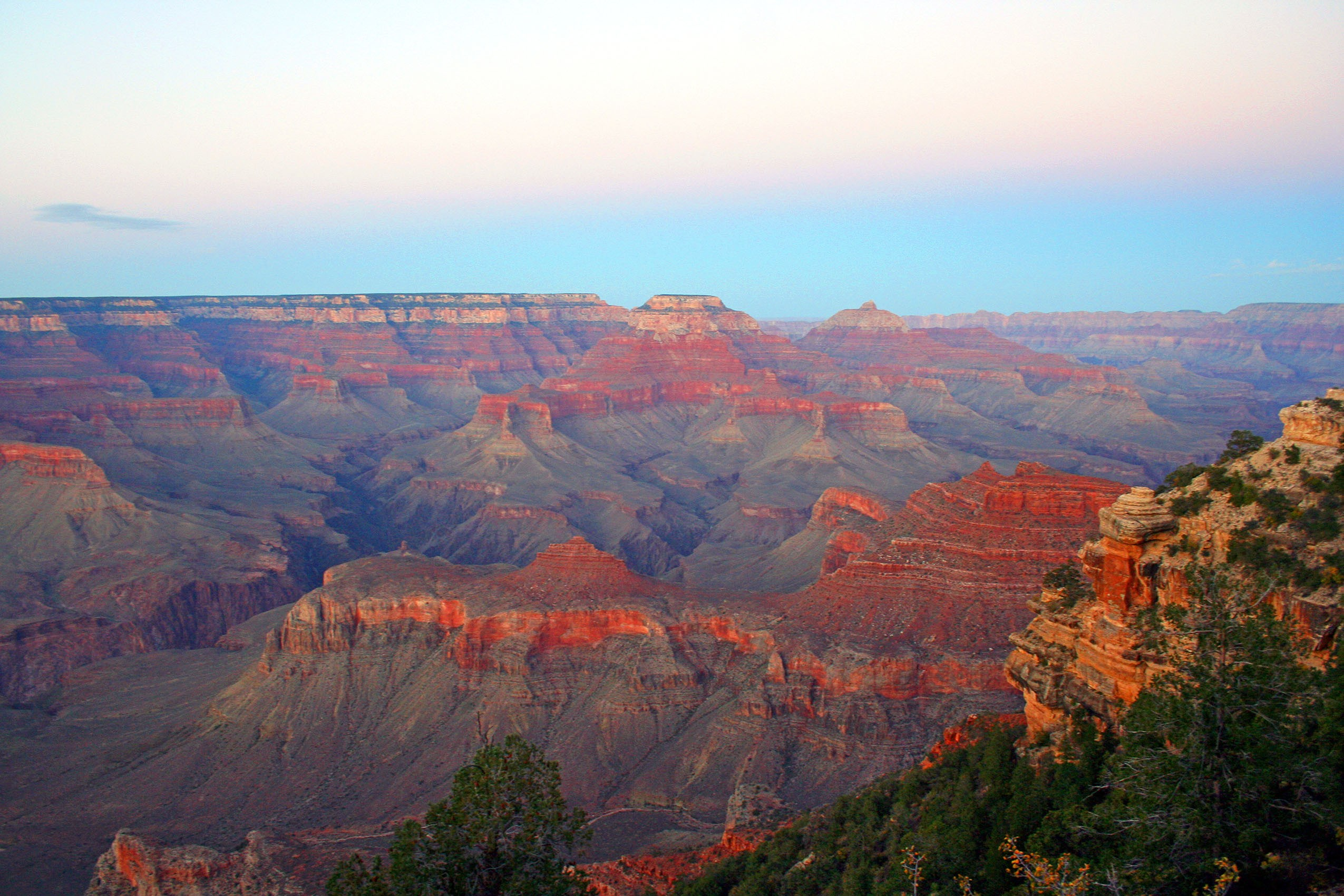 Twilight at Yaki Point