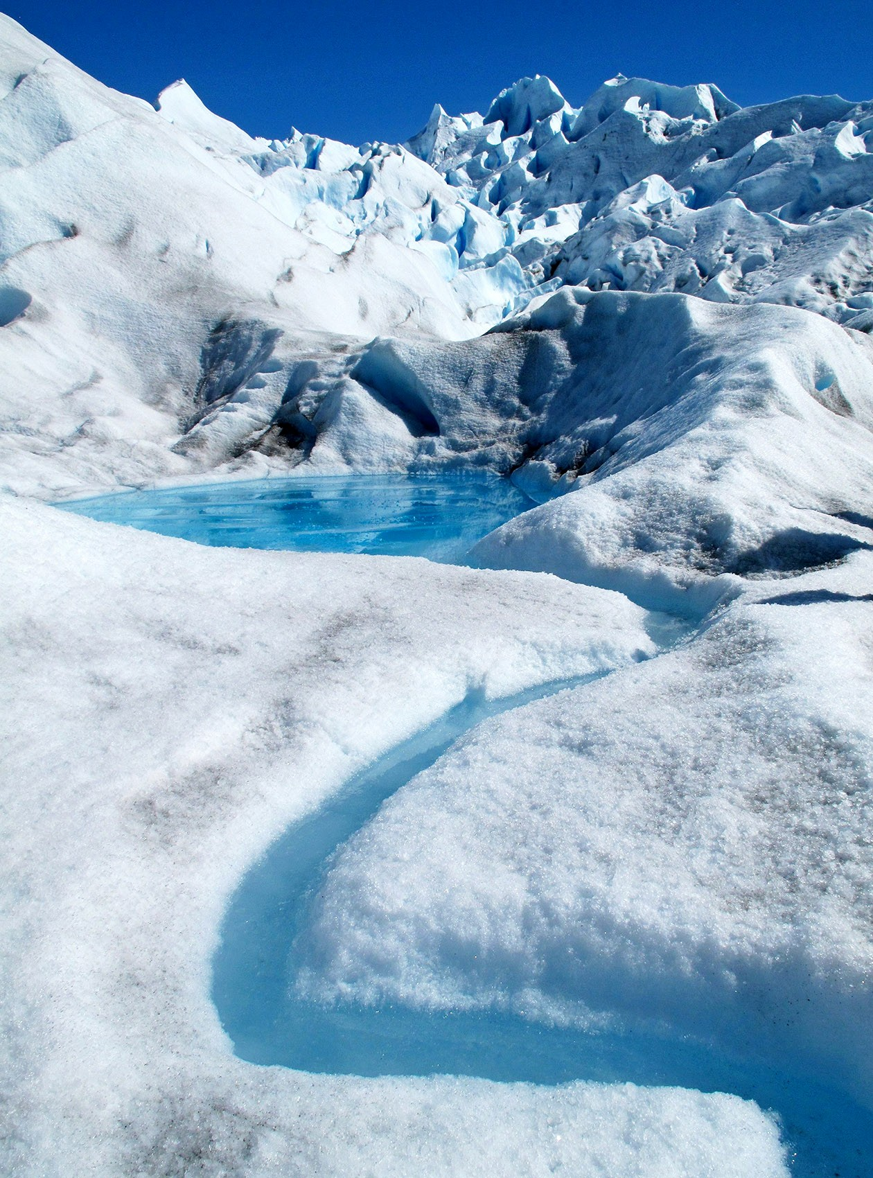 Perito Moreno Icy Creek