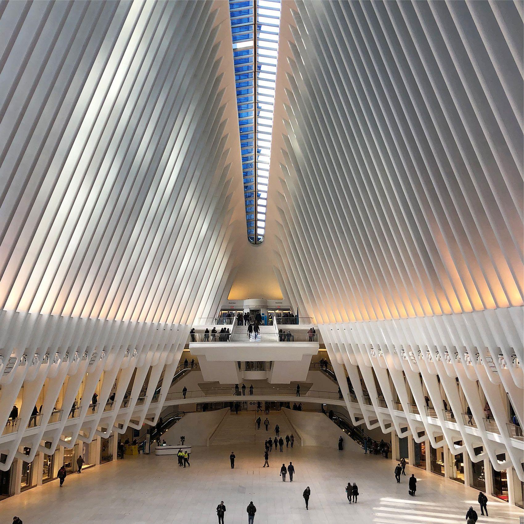 Interior, Oculus Space, NYC