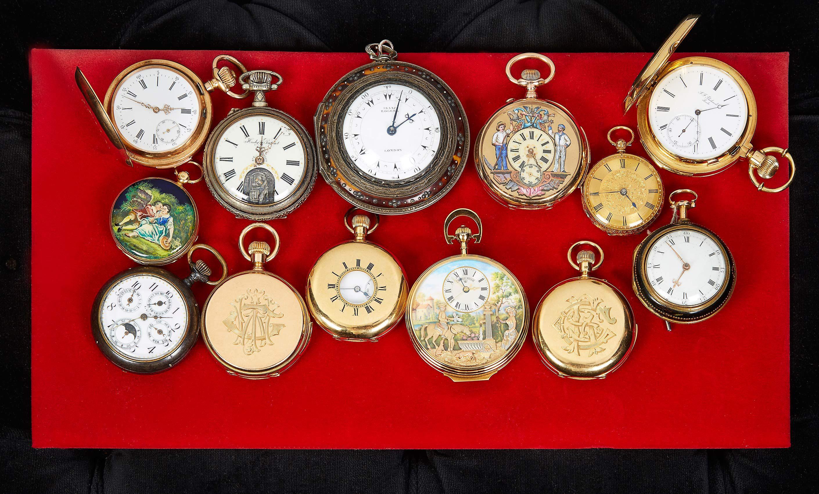 Rare, vintage pocket watches