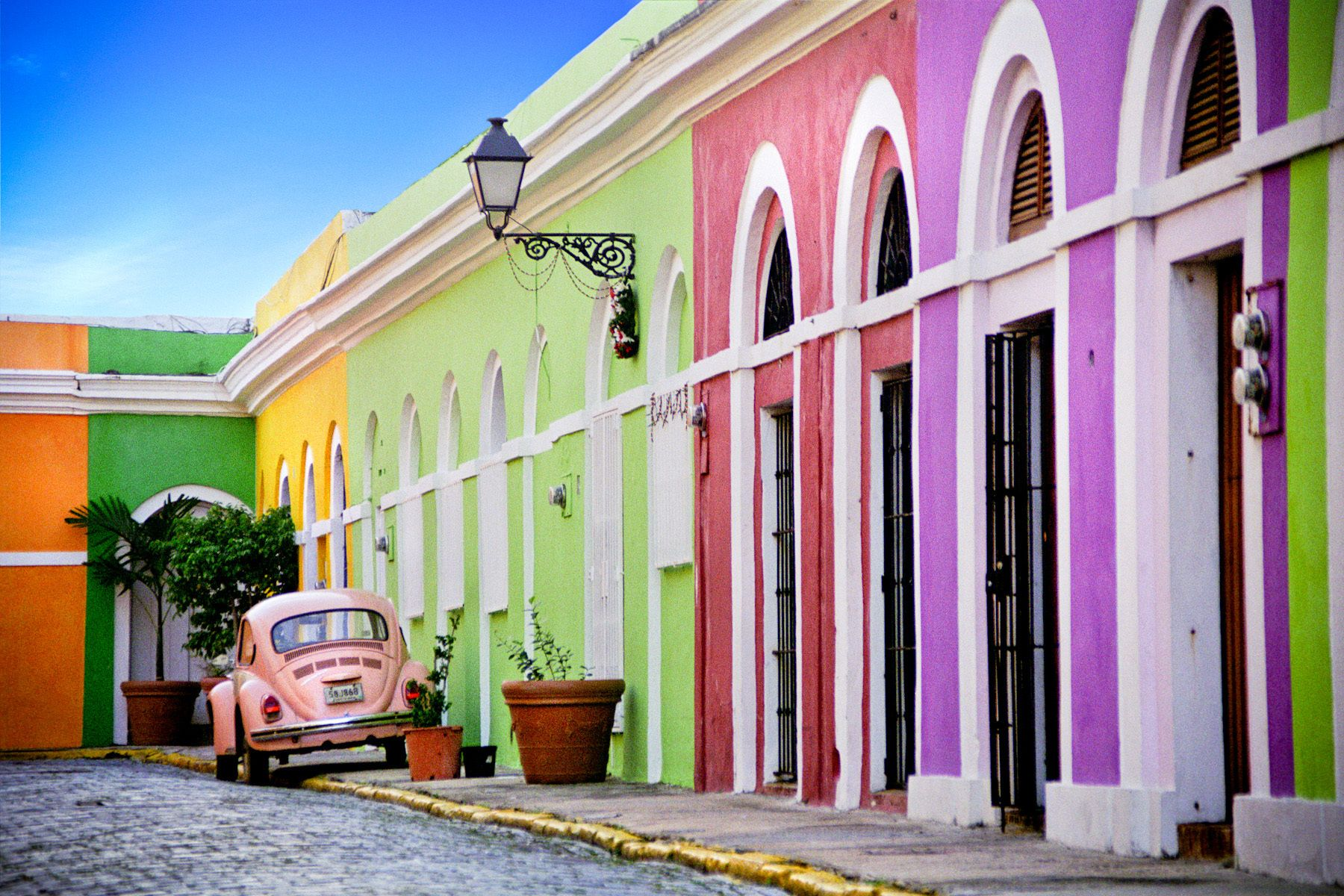 Colours of the Caribbean (Old San Juan, Puerto Rico)