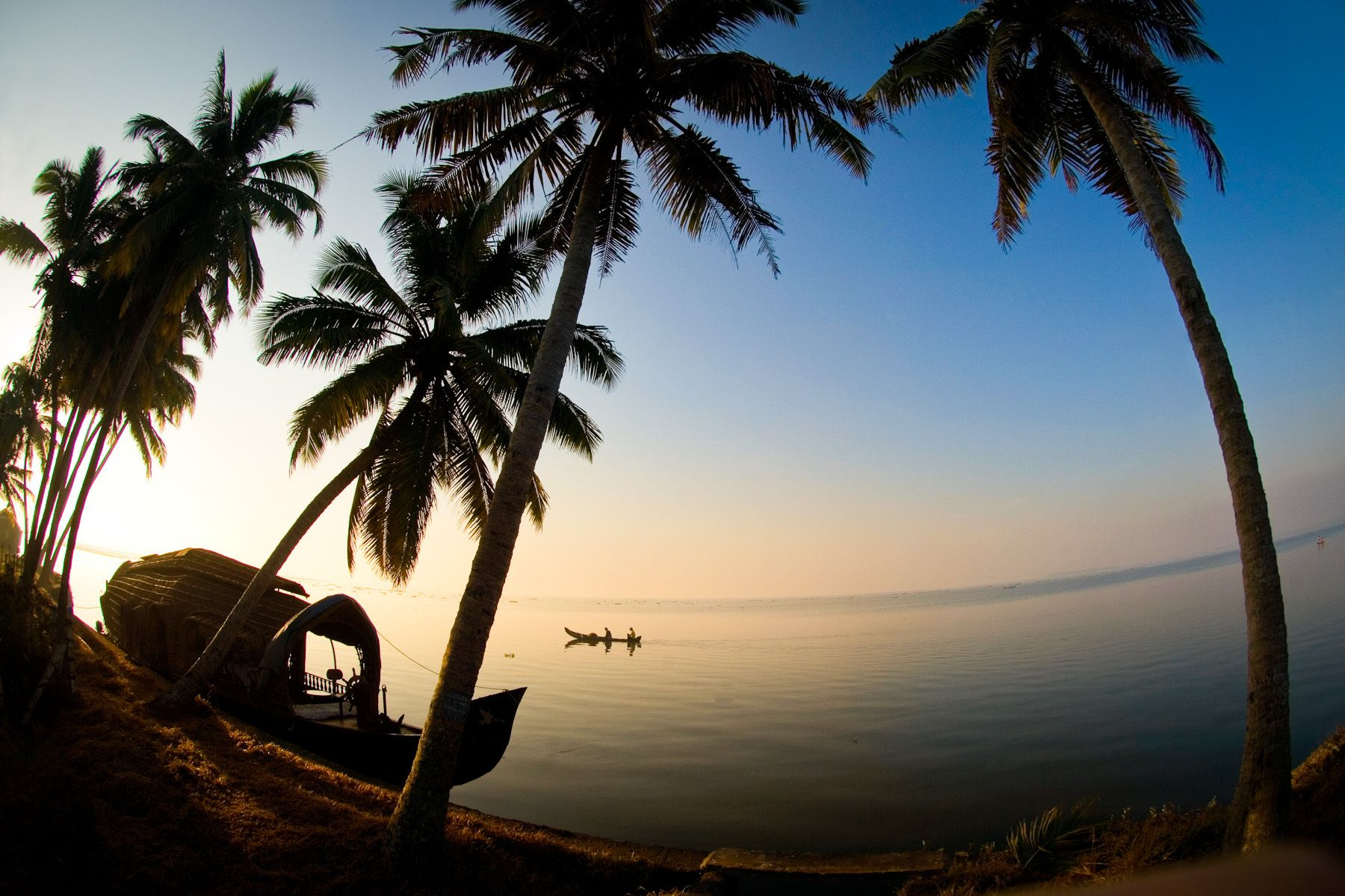 Backwaters of Kerela (India)