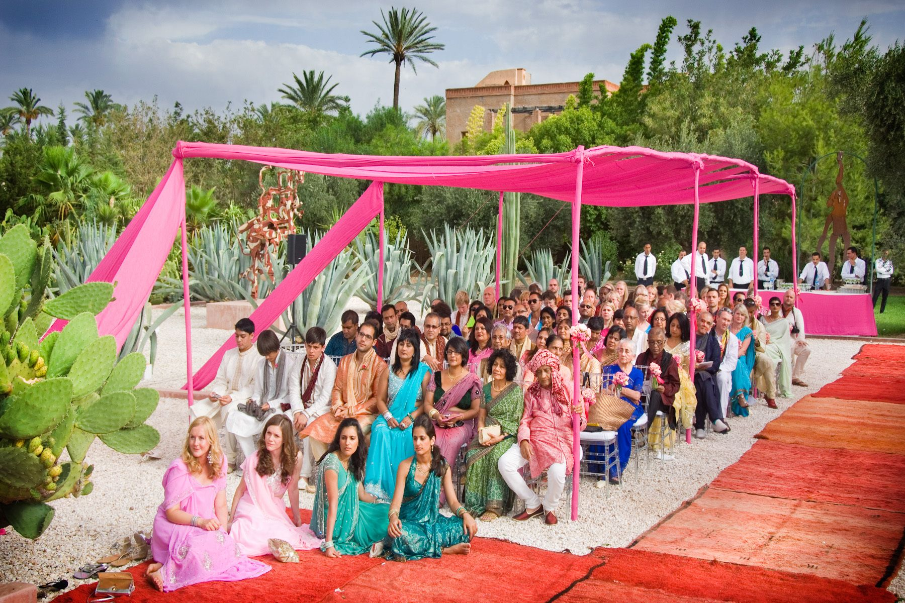 The colours of an Indian wedding (Marrakesh, Morocco)