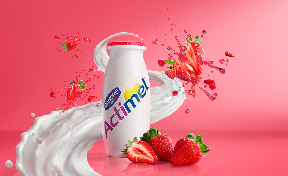 Danone Actimel Strawberry