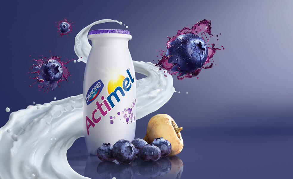 Danone Actimel Blueberry